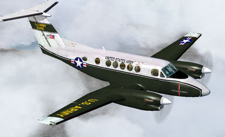 US Army C-12 Huron for FS9 | Microsimulation | Scoop.it
