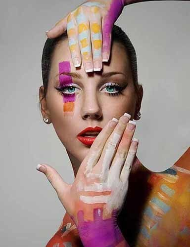 Modern body painting! | The Arts forming our personality | Scoop.it