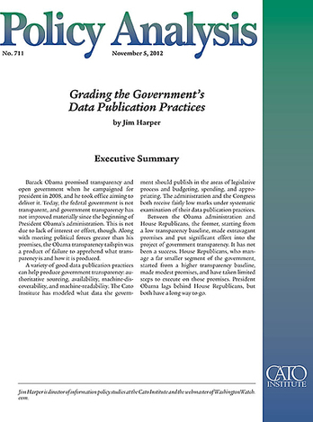 Grading the Government's Data Publication Practices | Open Knowledge | Scoop.it