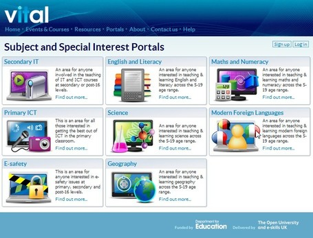 Subject and Special Interest Portals | Vital | Integrating Technology in the Classroom | Scoop.it