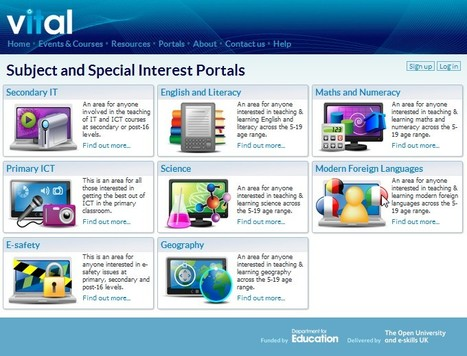 Subject and Special Interest Portals | Vital | 21st Century Tools for Teaching-People and Learners | Scoop.it