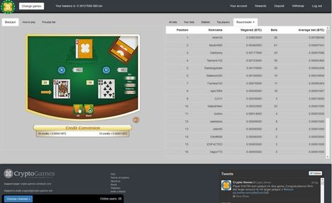 ★ Crypto-Games.net | DICE, BLACKJACK, SLOTS | Jackpot, Ivestments! ★ | Crypto-Games.net slot and dice game for playing with cryptos | Scoop.it