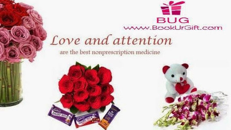BookUrGift | Send Roses to India to Someone Special and Say It With Flowers | Scoop.it