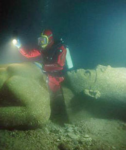 Ancient Egyptian city of Heracleion to share its sunken secret at long last - | Ancient Egypt and Nubia | Scoop.it
