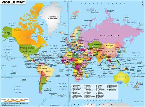 World Map | lärresurser | Scoop.it