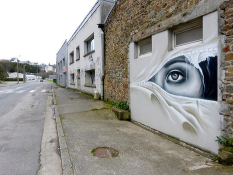 Liliwenn New Mural In Brest, France StreetArtNews | Participation culturelle | Scoop.it