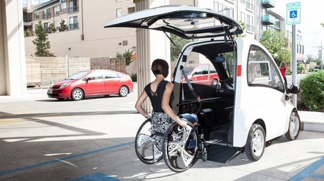 The Only Car in the World Built Exclusively For Wheelchair Users | Big Think | Third Industrial Revolution | Scoop.it