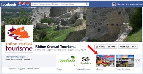 Page Facebook de Rhône Crussol Tourisme | Sites qui ont implémenté les Widgets Sitra | Scoop.it
