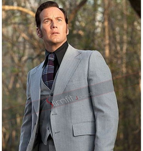 Conjuring 2 Patrick Wilson Grey Suit | Replica Movies Leather Jackets | Scoop.it