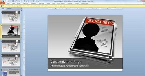 Animated Magazine PowerPoint Templates | PowerPoint Presentation | IT | Scoop.it