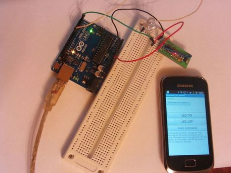 How to control Arduino board using an Android phone | tecno4 | Scoop.it