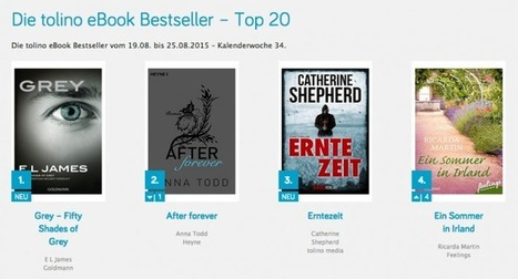 Tolino Launches Ebook Bestseller List in Germany | Ebook and Publishing | Scoop.it