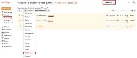 Cómo reetiquetar todas las entradas del blog | Tic, Tac... y un poquito más | Scoop.it