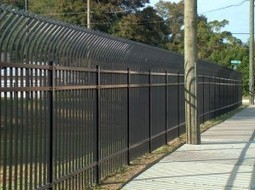 Fence security for uneven site | Safety and Security | Scoop.it