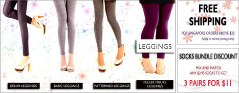 Citrusox - Shop Chic Styled Fashion Leggings online for Women in Singapore | citrusox | Scoop.it