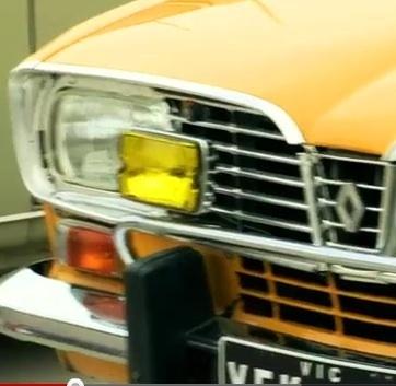 En Australie, une Renault 16 TS orange andalou en vedette! | Renault 16 | Scoop.it