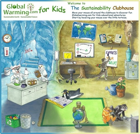 The Sustainability Club House | UDL & ICT in education | Scoop.it