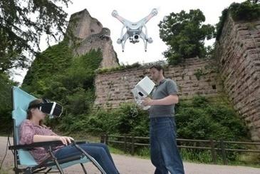 Les châteaux forts d'Alsace misent sur le drone pour pimenter leurs visites | Alsace Actu | Scoop.it