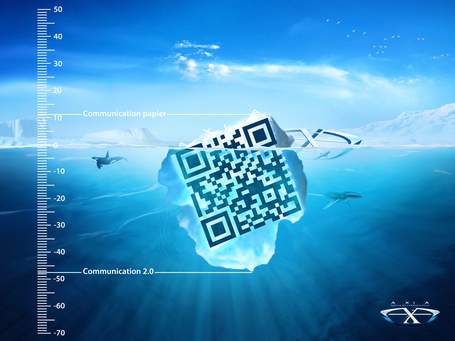 Le QR Code n'est que la surface visible de l'iceberg ! | QRiousCODE | Scoop.it