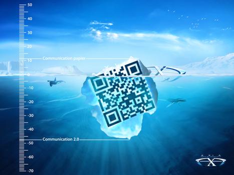 Le QR Code n'est que la surface visible de l'iceberg ! | QRiousCODE | Scoop.it