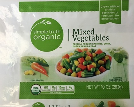 Frozen food recall expands again, now includes Simple Truth Organic Mixed Vegetables - TheDenverChannel.com | Backstabber Watch | Scoop.it
