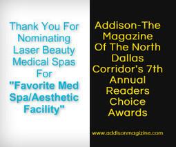 Laser Beauty Medical Spas Nominated For Favorite North Dallas Med Spa   Laser Beauty Medical Spa   Scoop.it