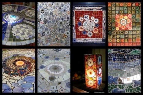 How to Mosaic, using handmade ceramic mosaic inserts or re ... | mosaics | Scoop.it