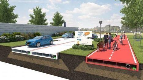 Pays-Bas : Rotterdam expérimente les routes en plastique | Dans l'actu | Doc' ESTP | Scoop.it