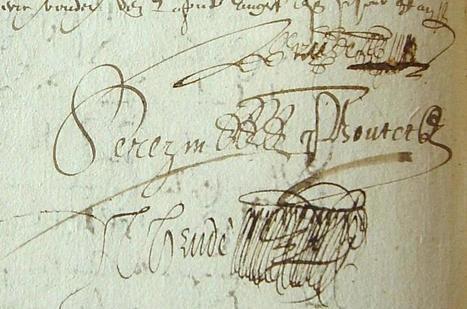 MODES de VIE aux 16e, 17e siècles » Archive du blog » Contre-lettre des paroissiens du Lion-d'Angers pour le paiement d'une sentence, Angers 1595 | blog de Jobris | Scoop.it