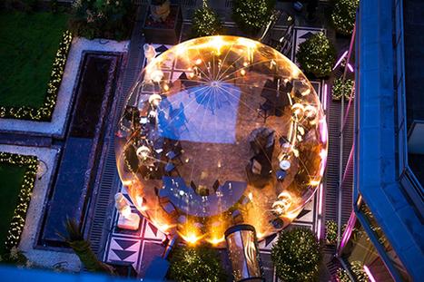 Une bulle printanière en plein hiver à l'hôtel du Collectionneur | Les Gentils PariZiens : style & art de vivre | Scoop.it