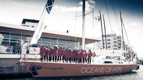 Official welcome as Oceans of Hope arrives in Portuguese capital - Sailing Sclerosis | Doentes 2.0 | Scoop.it