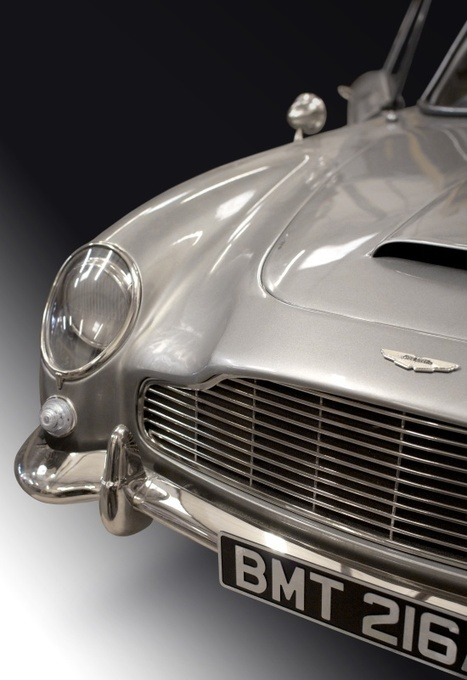 voxeljet builds Aston Martin models for James Bond film Skyfall | 3D Printing and Fabbing | Scoop.it