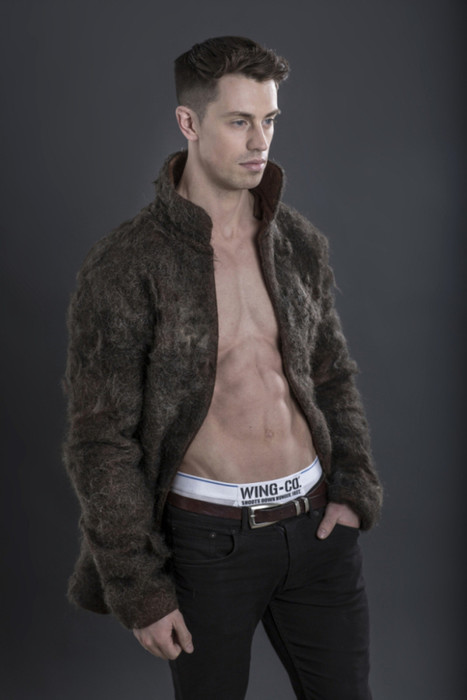 Fur Coat Made Entirely Of Male Chest Hair   Strange days indeed...   Scoop.it