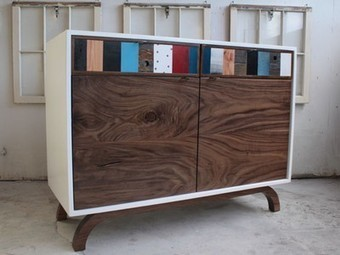 Salvaged & Refined: Modern Warehouse Furniture By Fin Art Co. | Organizing and Downsizing a home | Scoop.it