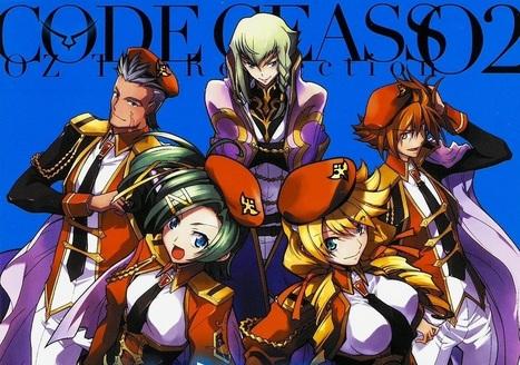 Finaliza el manga Code Geass : Sōbō no Oz 02   Noticias Anime [es]   Scoop.it