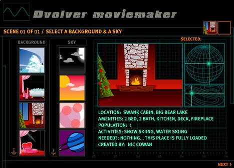 Dvolver Moviemaker for prepare simple  and free digital animations | Create, Innovate & Evaluate in Higher Education | Scoop.it