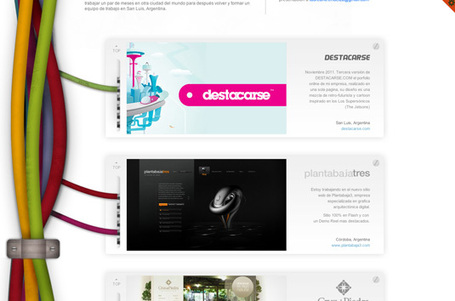 20 inspiring examples of design portfolios | timms brand design | Scoop.it