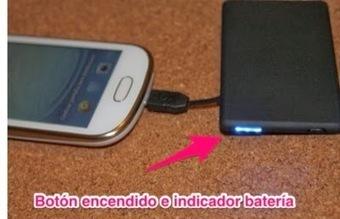 Batería de emergencia tamaño tarjeta de crédito (Review)   Reviews iPhone iPad accesorios   Scoop.it
