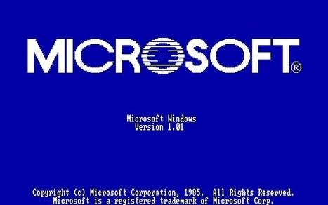 Windows a 30 ans, retour sur un symbole de l'informatique grand public | Au fil du Web | Scoop.it