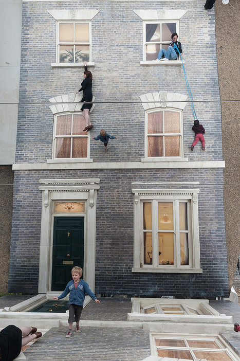Leandro Erlich's Reflective Optical Illusion House Now in London | Culture and Fun - Art | Scoop.it