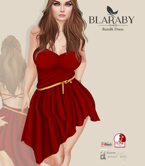 [BLARABY] Bambi Dress [Gift] | 亗 Second Life Freebies Addiction & More 亗 | Scoop.it