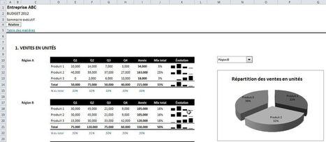 Modèle financier budgétaire dans Excel : Téléchargement libre | Modélisation financière | Scoop.it