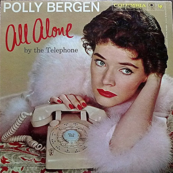 Polly Bergen All Alone By The Telephone Vintage by 33Reasons | Kitsch | Scoop.it