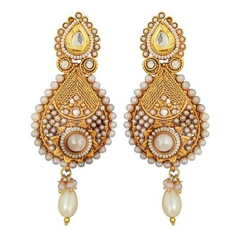 These Four Types Of Kundan Ornaments Which Every Bride Would Love To Wear On Her Wedding   Beautiful Jewellery   Scoop.it