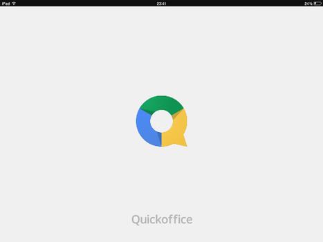 Crear Documentos en Quickoffice | ticJR | Scoop.it