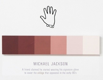 Artist Creates Minimalist Posters That Document Color Changes - DesignTAXI.com | Visual Culture and Communication | Scoop.it