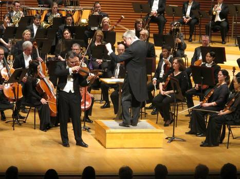 Concert Review: Schubert's Ninth and Gil Shaham by Don Clark | OffStage | Scoop.it