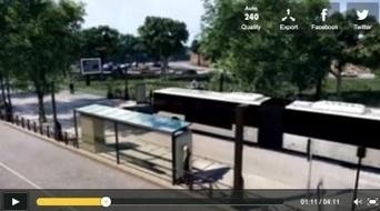 [Vidéo] Le projet de la ligne G en 3D : de la Gare à l'Espace européen d'entreprise | Alsace | Scoop.it