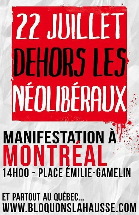 """""""Back to class means back on strike!"""" Montreal Convergence (August 13-17) 