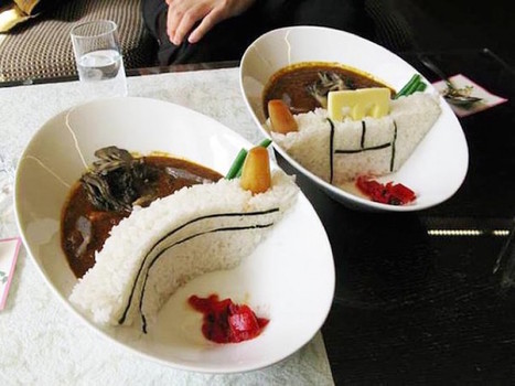 Creative Dam Curry is a Popular Dish Near Famous Dams in Japan | Le It e Amo ✪ | Scoop.it